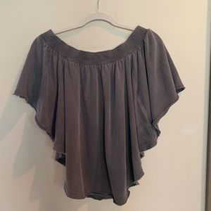NWT Free People Kiss Me Off Shoulder Knit Top